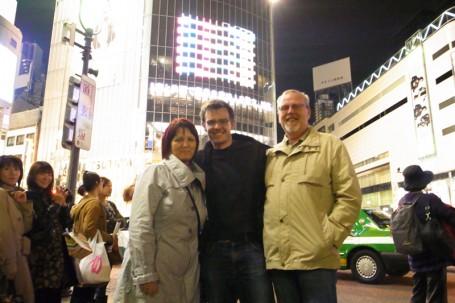 Shibuya mit Eltern